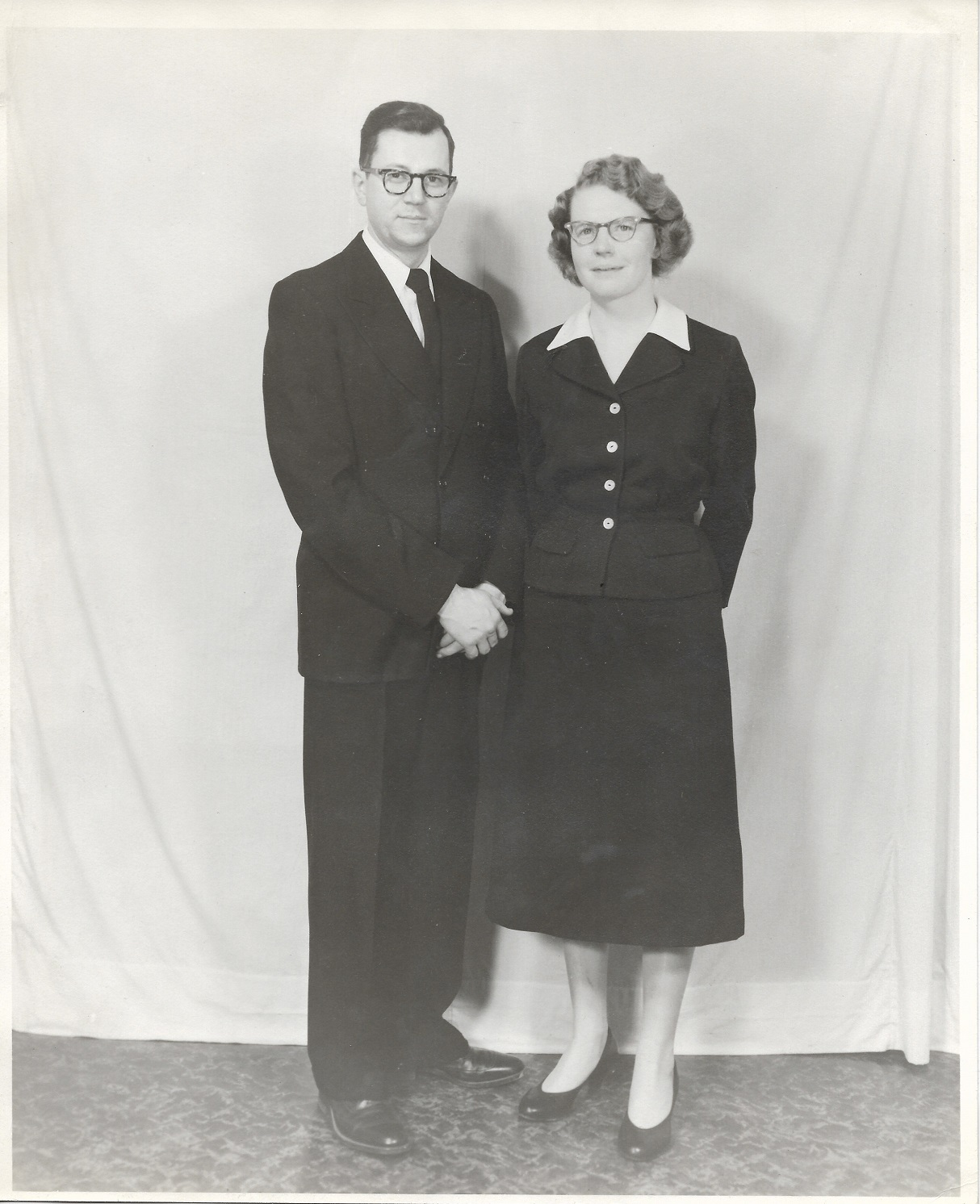 This photo depicts my paternal grandparents at their wedding reception in 1958.