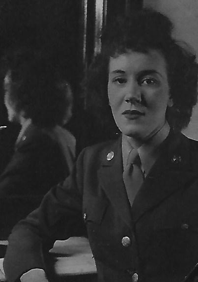 Maxine in Her Uniform