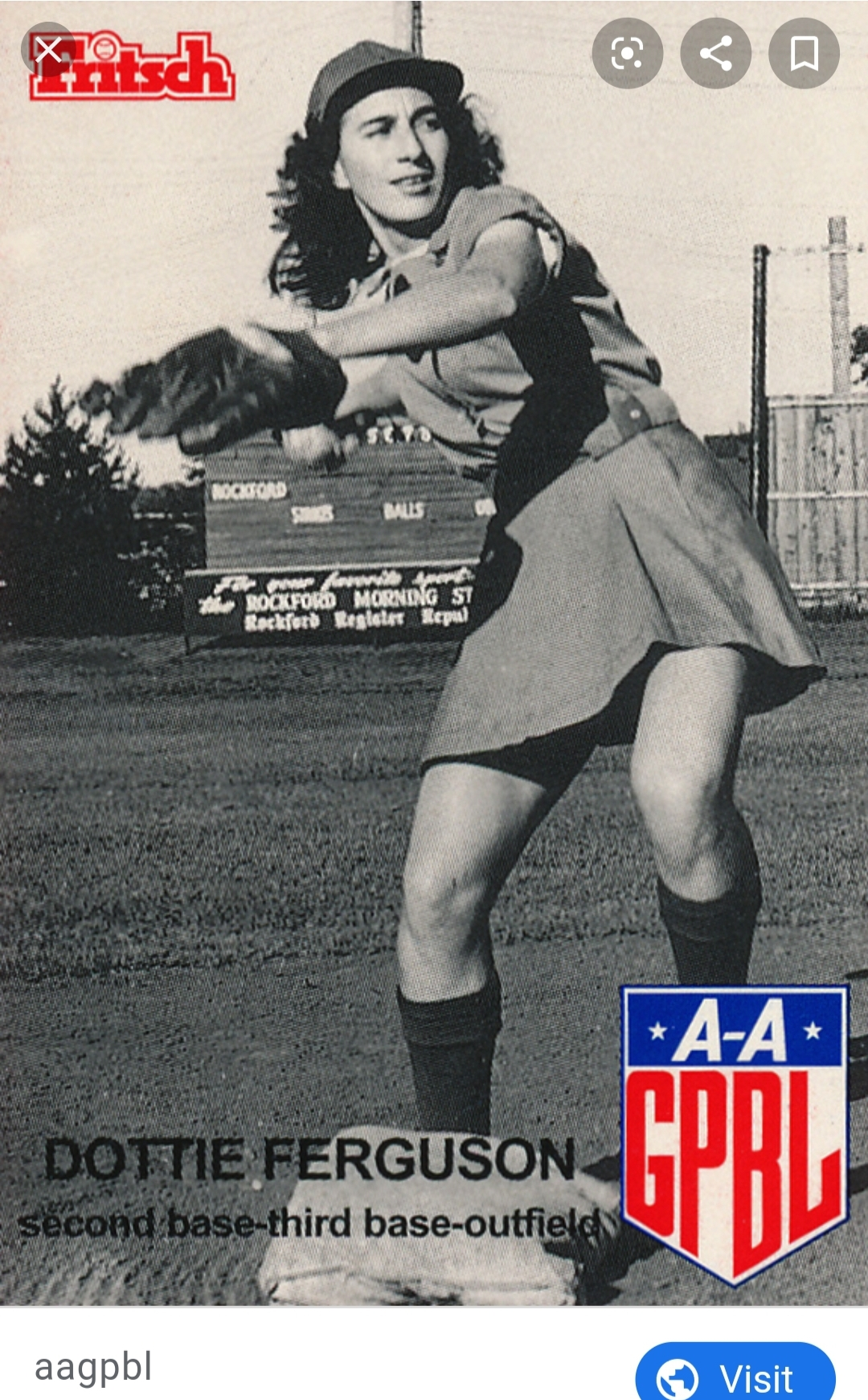 Courtesy of AAGPBL