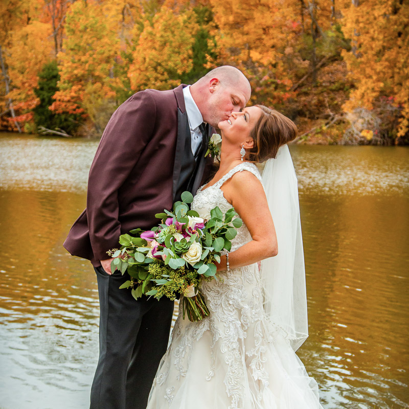 Link to Greater St Louis area wedding photographers gallery of Nicole & Jason