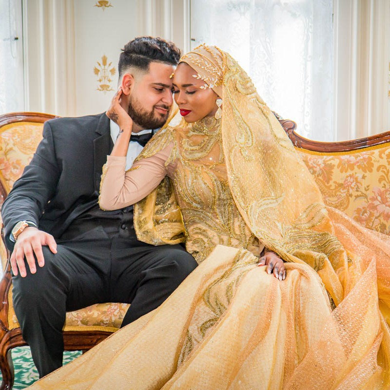link to greater St. Louis area wedding photography gallery of Wafa and Samieh