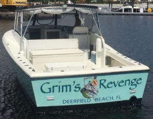 grims revenge charter boat