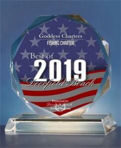 goddess charter best of 2019 award