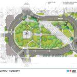 Image of design concept for Logan Square.