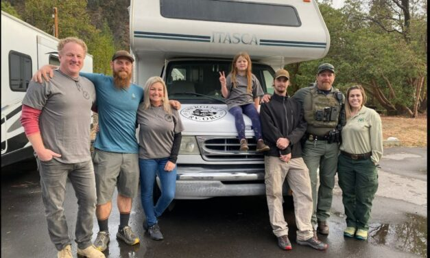 Father-Daughter Duo Donate RVs to California Wildfire Victims