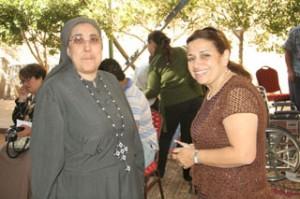 توزيع الكراسي المتحركة في مصر 2010