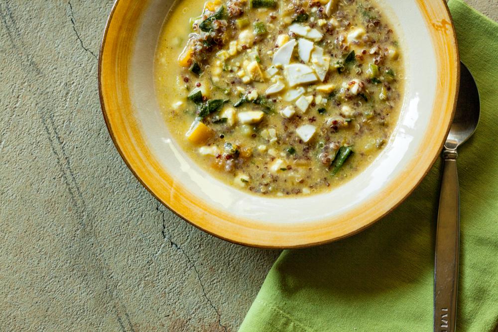 Cider food pairings quinoa