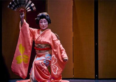 """Wakayagi Kiyoka in """"Seigaiha"""""""