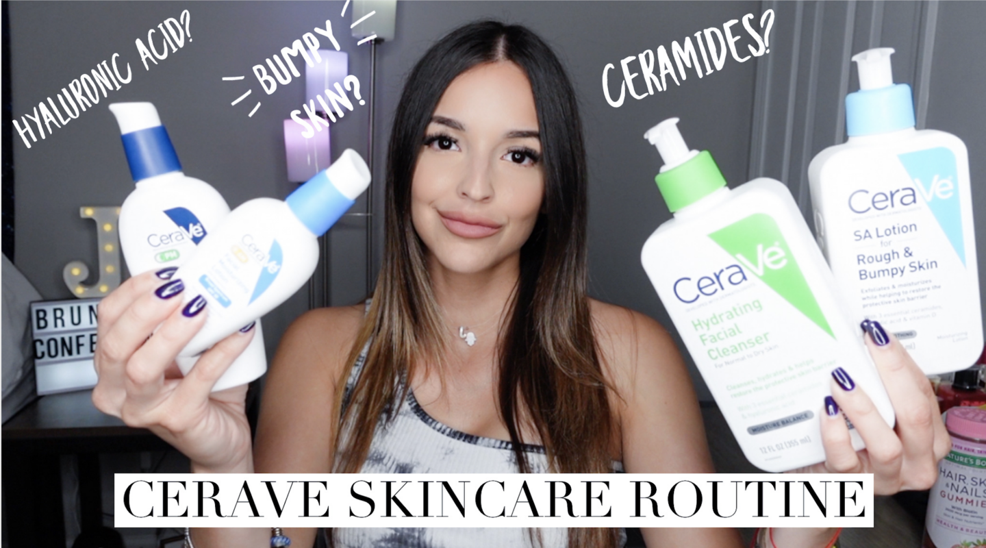 I used CeraVe products for a month, changed my skin!