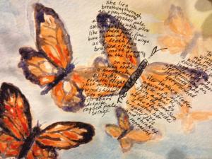 Monarchs ( with poem)
