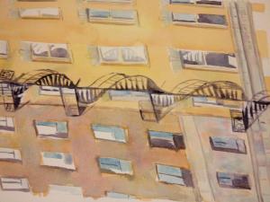 Building - Watercolor