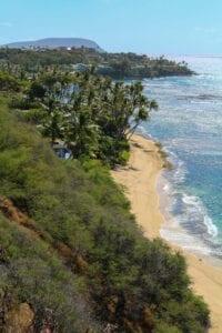 Diamond Head Past Beach
