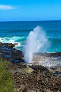 Blow Hole Kauai