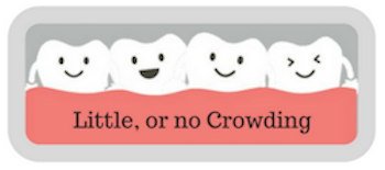 little or no crowding