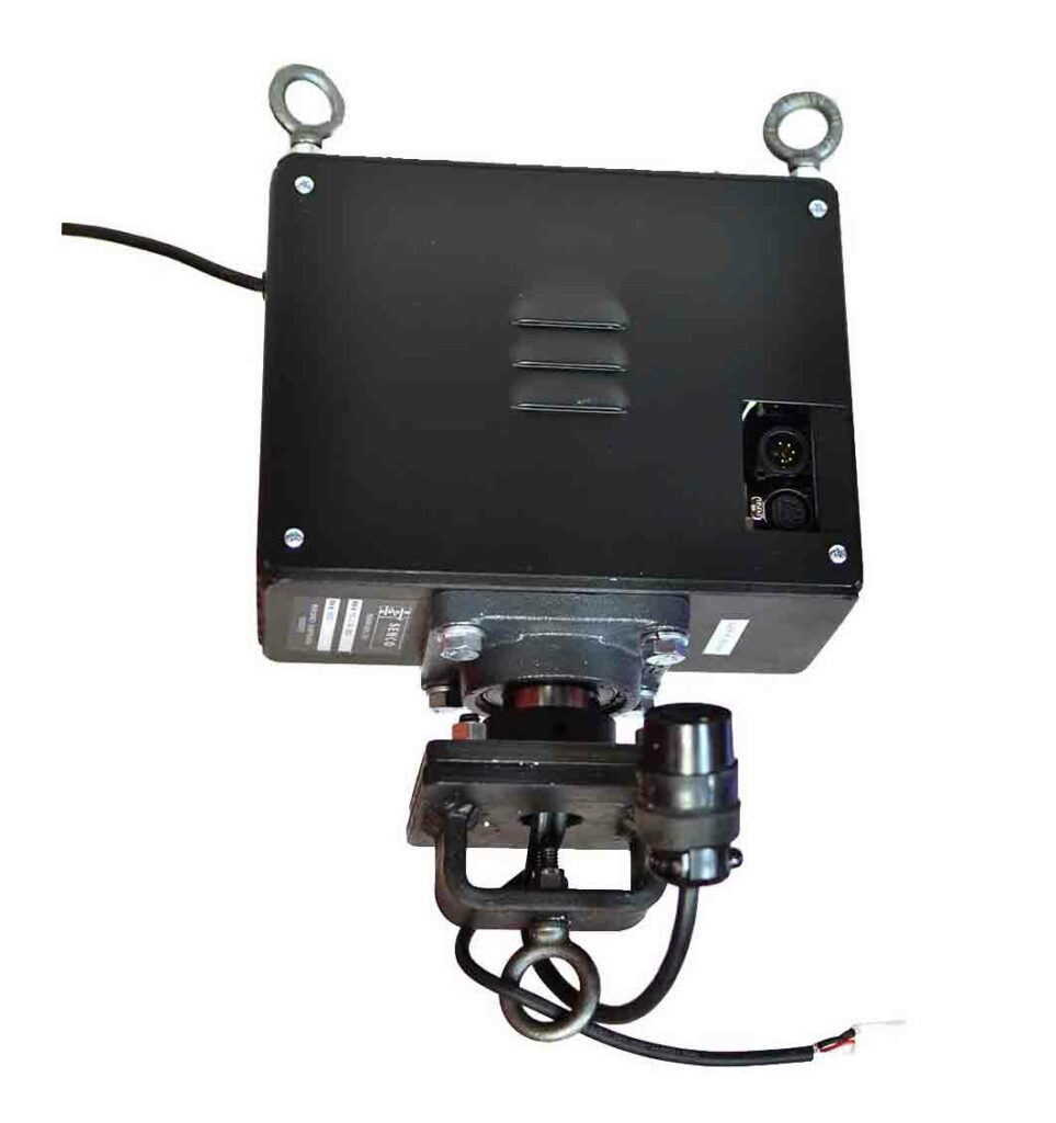 DMX controlled rotator