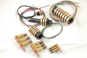 Semco Motion slip rings and collector assemblies