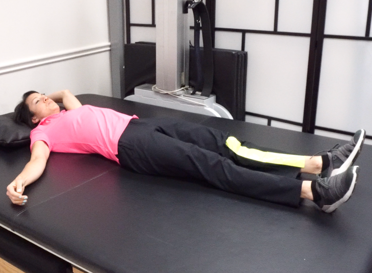 stroke bed exercise position1