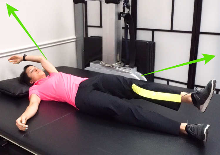 PNF mass extension exercise