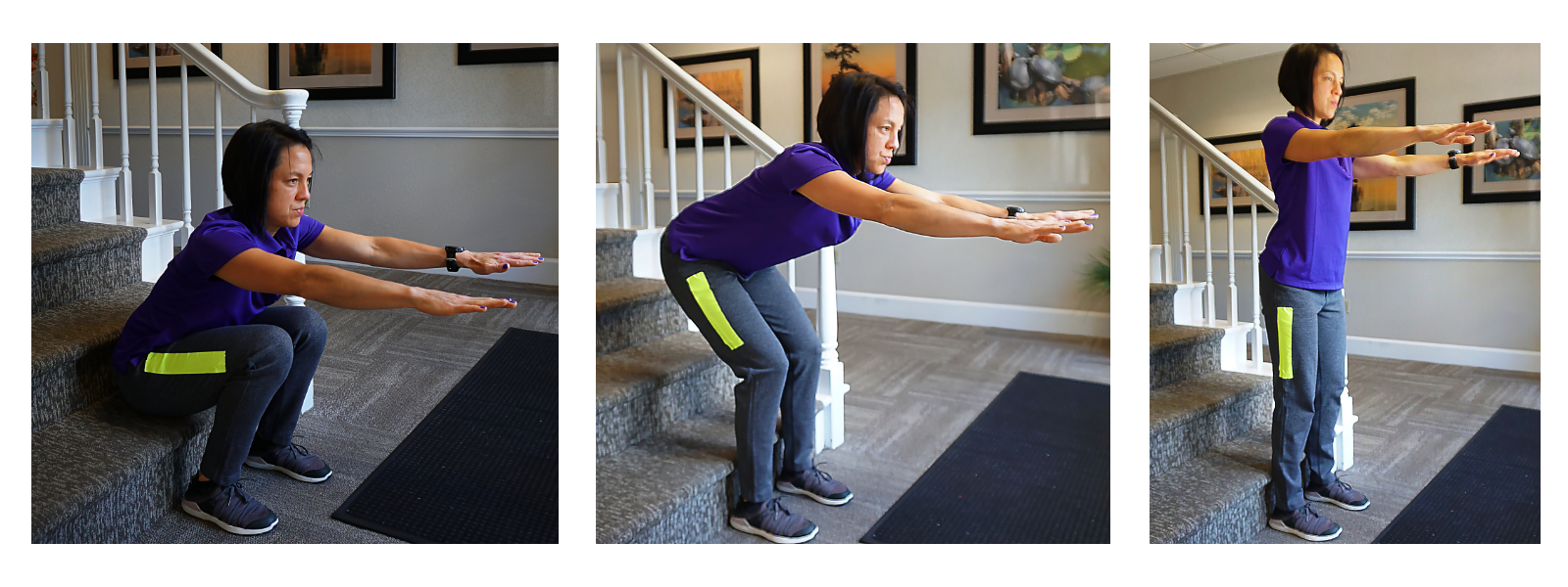 squatting to standing exercise