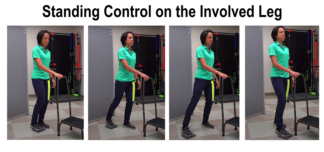 standing control exercise