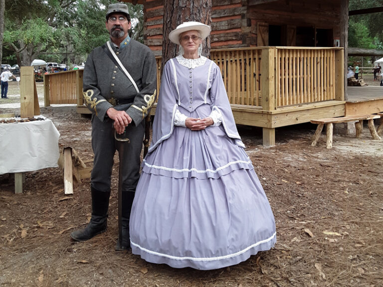Actors at Cracker Village Silver Springs State Park