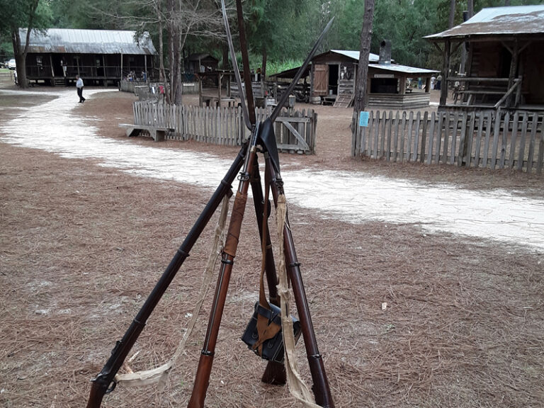 Muskets at Cracker Village Silver Springs State Park