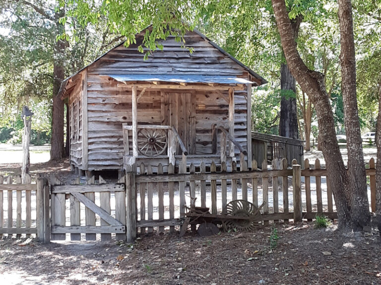 Replica Building at Cracker Village Silver Springs State Park