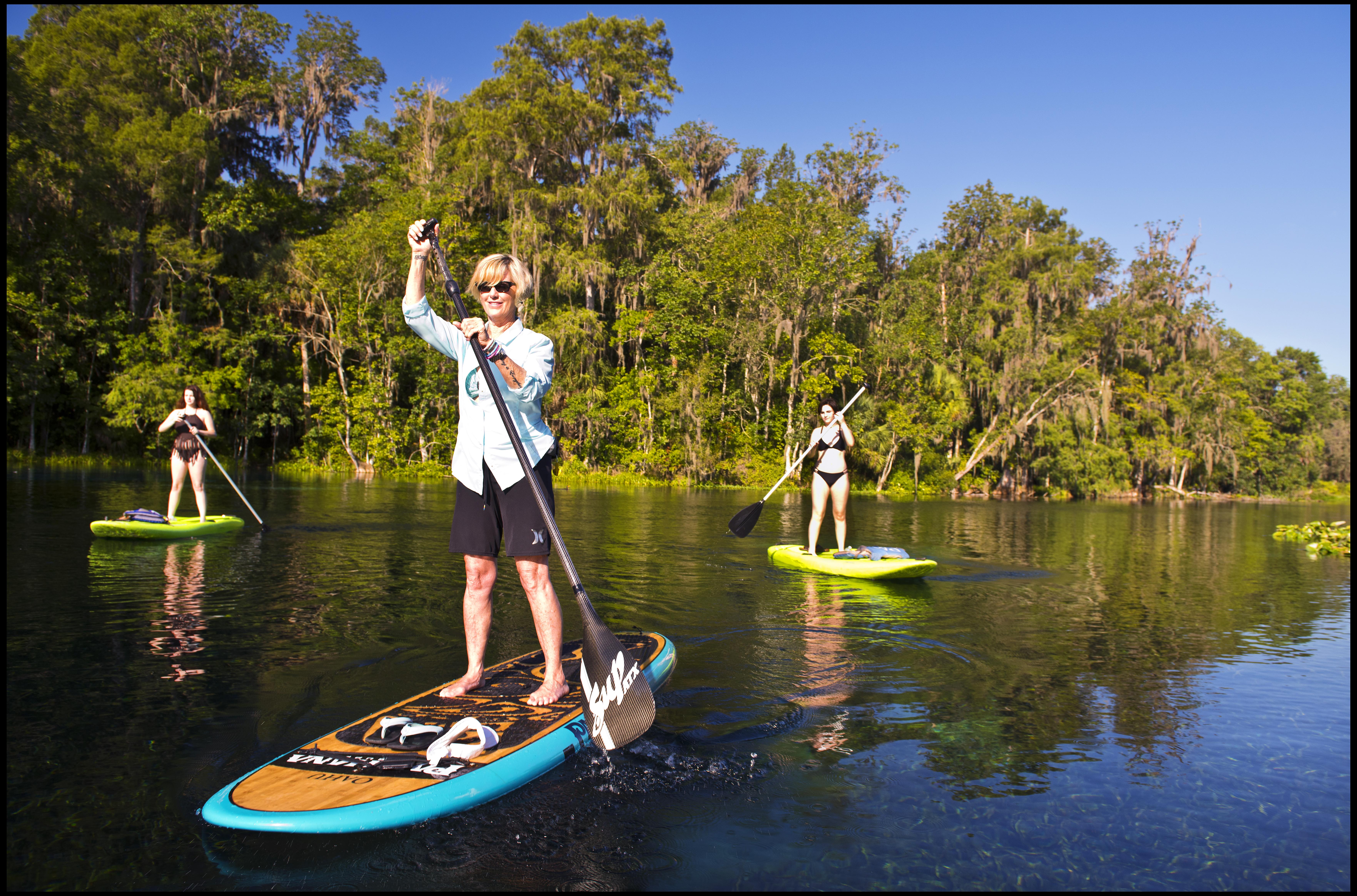 Silver Springs Paddleboard Rental