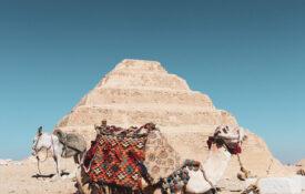 Sakkara step pyramid by Kenzie Kashmiri