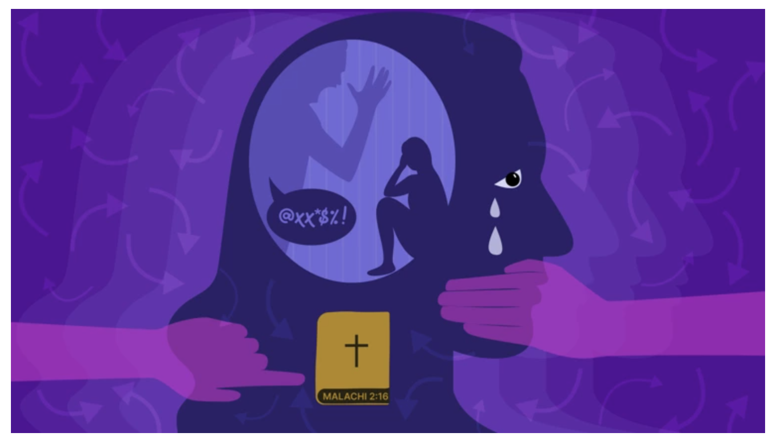 Graphic for Christian Post Article on Emotional Abuse in Christian Marriages August 1, 2021