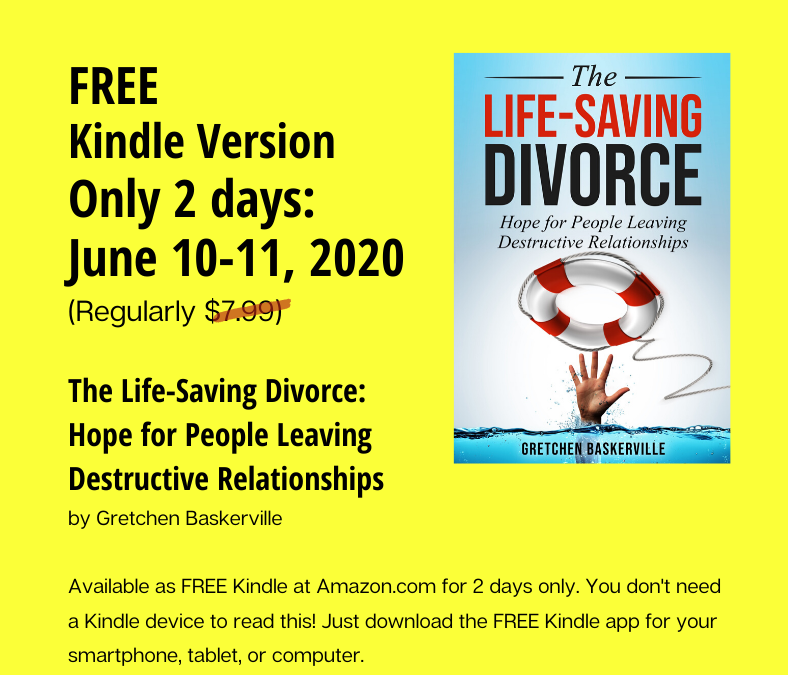 Free ebook: The Life-Saving Divorce
