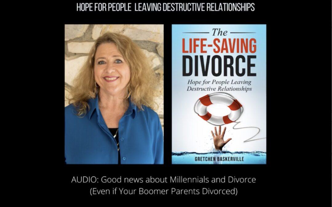 Good News for Millennials with Divorced Parents