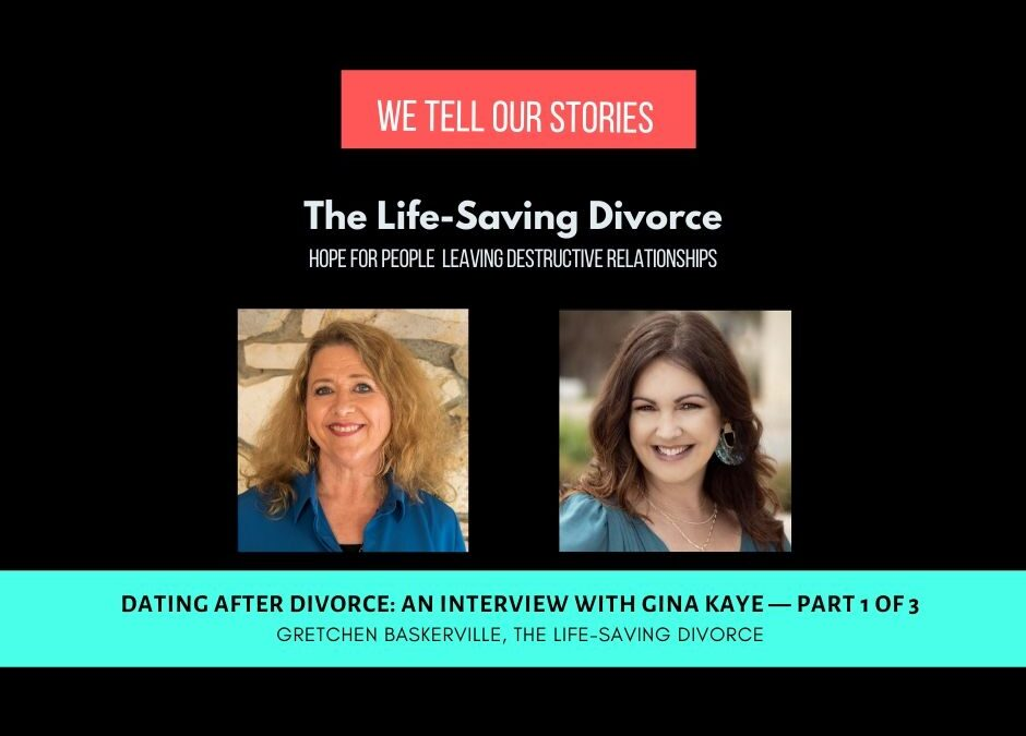 Dating After Divorce, Interview with Gina Kaye [VIDEO]