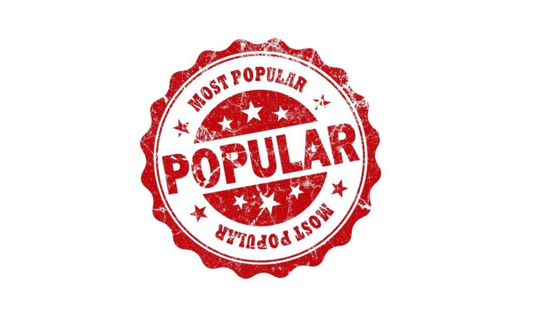 50 Most Popular Blog Posts