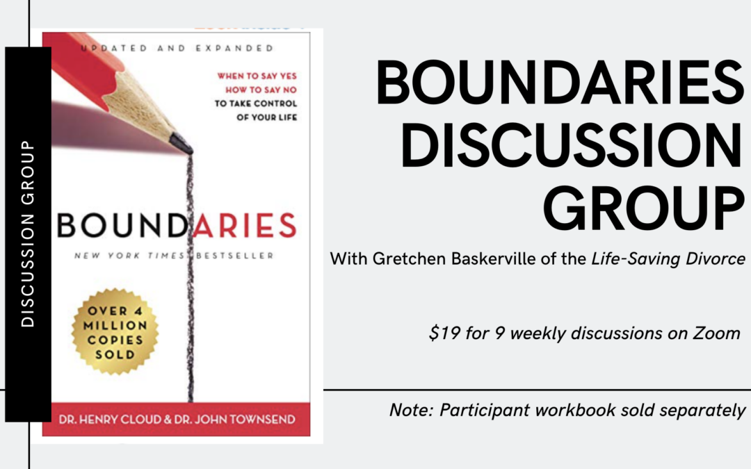 Boundaries Discussion Group – 2021 Calendar