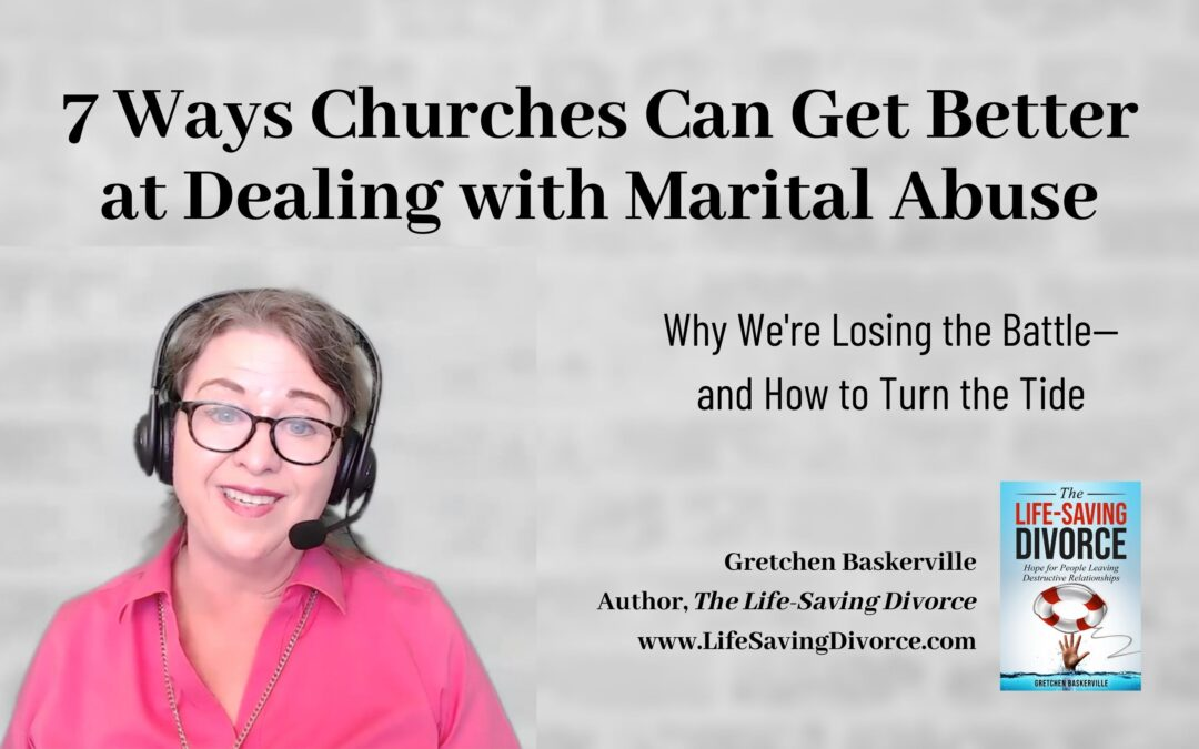 7 Ways Churches Can Address Emotional Abuse in Christian Marriages