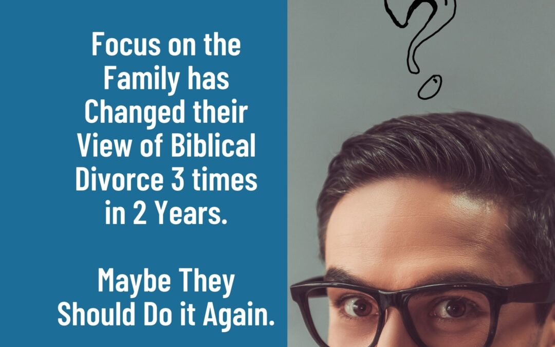 Why is Focus on the Family So Confused about Divorce?
