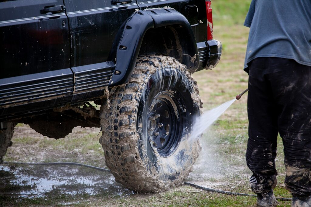 Shine On Detail shop offers off road adventurers a deep clean service!