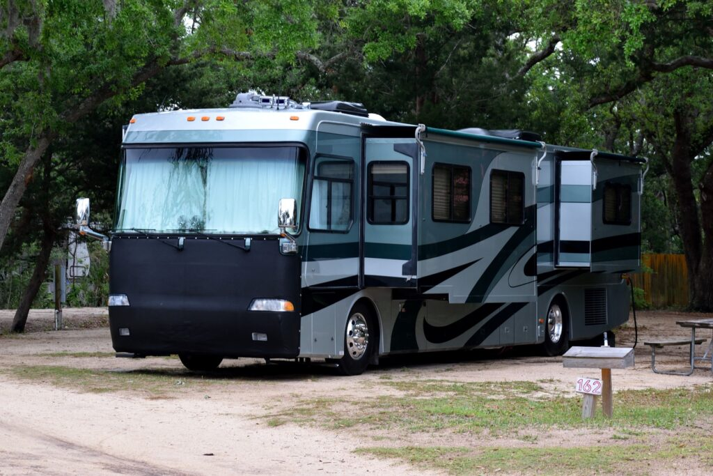 Shine On Detail shop are experts in RV and Motorhome Detailing