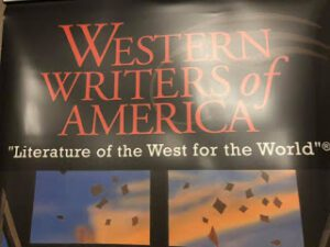 Poster for the Western Writers of America's event, Literature of the West for the World (300 x 225)