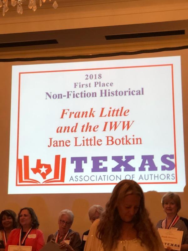 11Texas Book Awards 2018