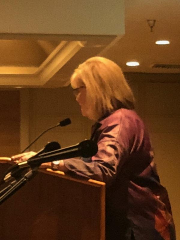 14Jane speaking at WWA Spur Awards 2018