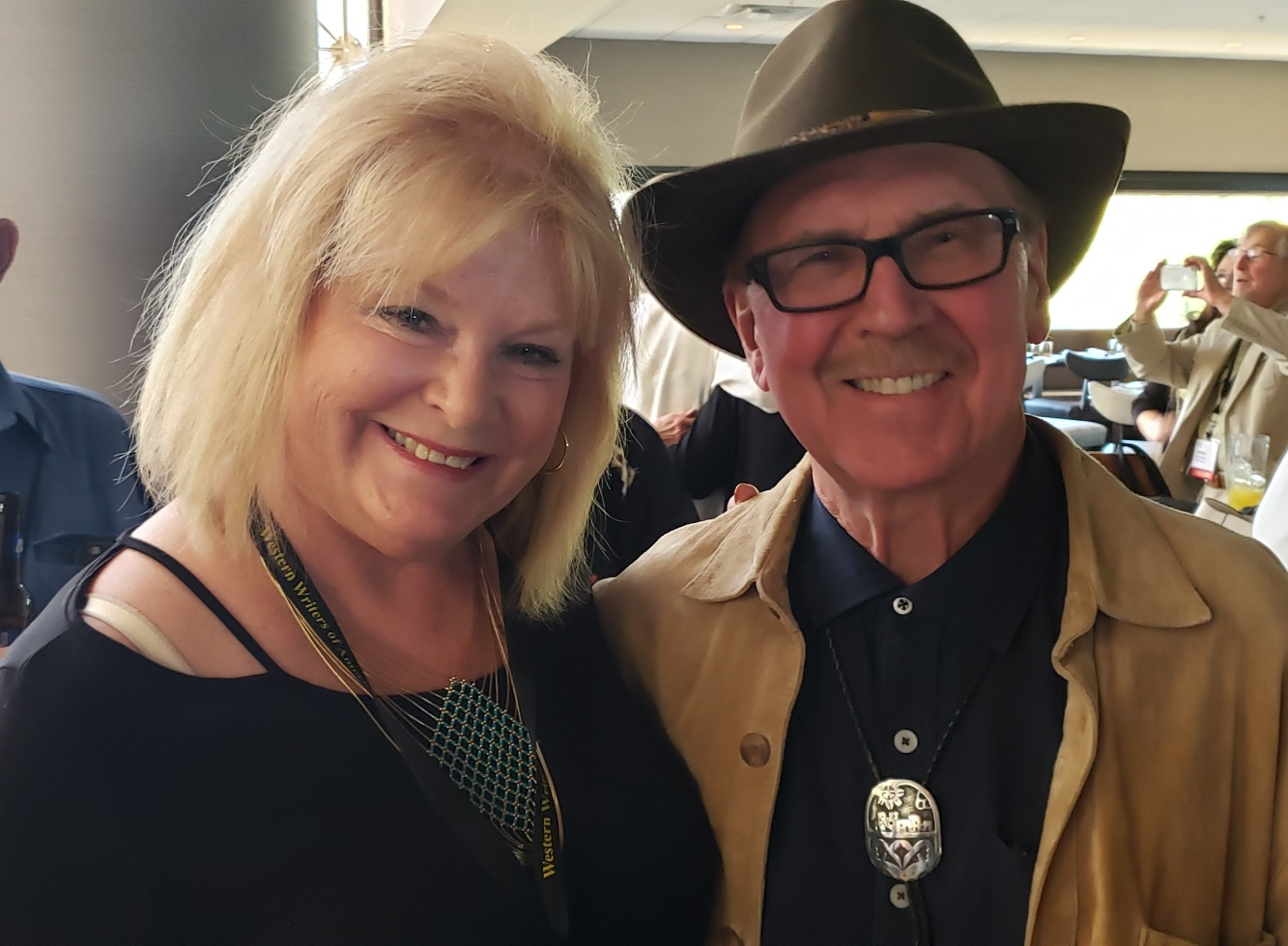 Jane Little Botkin and David Morrell, author of the Rambo series