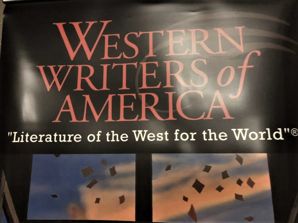 Poster for the Western Writers of America's event, Literature of the West for the World
