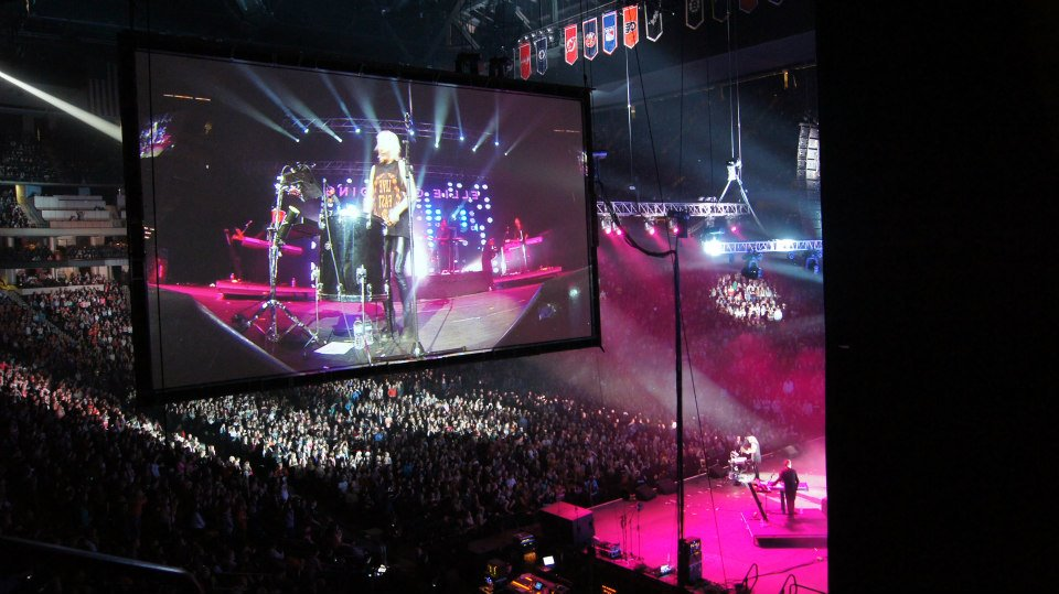 Concert Lighting and Video