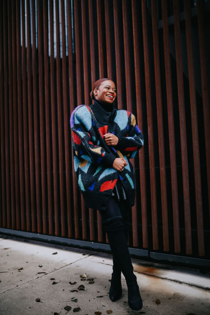 Multicolored Vintage Sweater