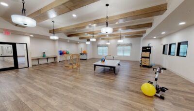 Willowbend at Marion – Physical Therapy 3D Model