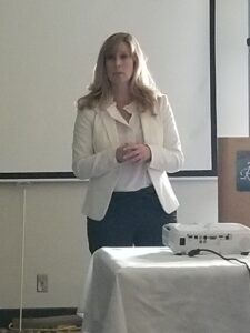 Christy Smith was the guest speaker at the SVCC meeting in October.