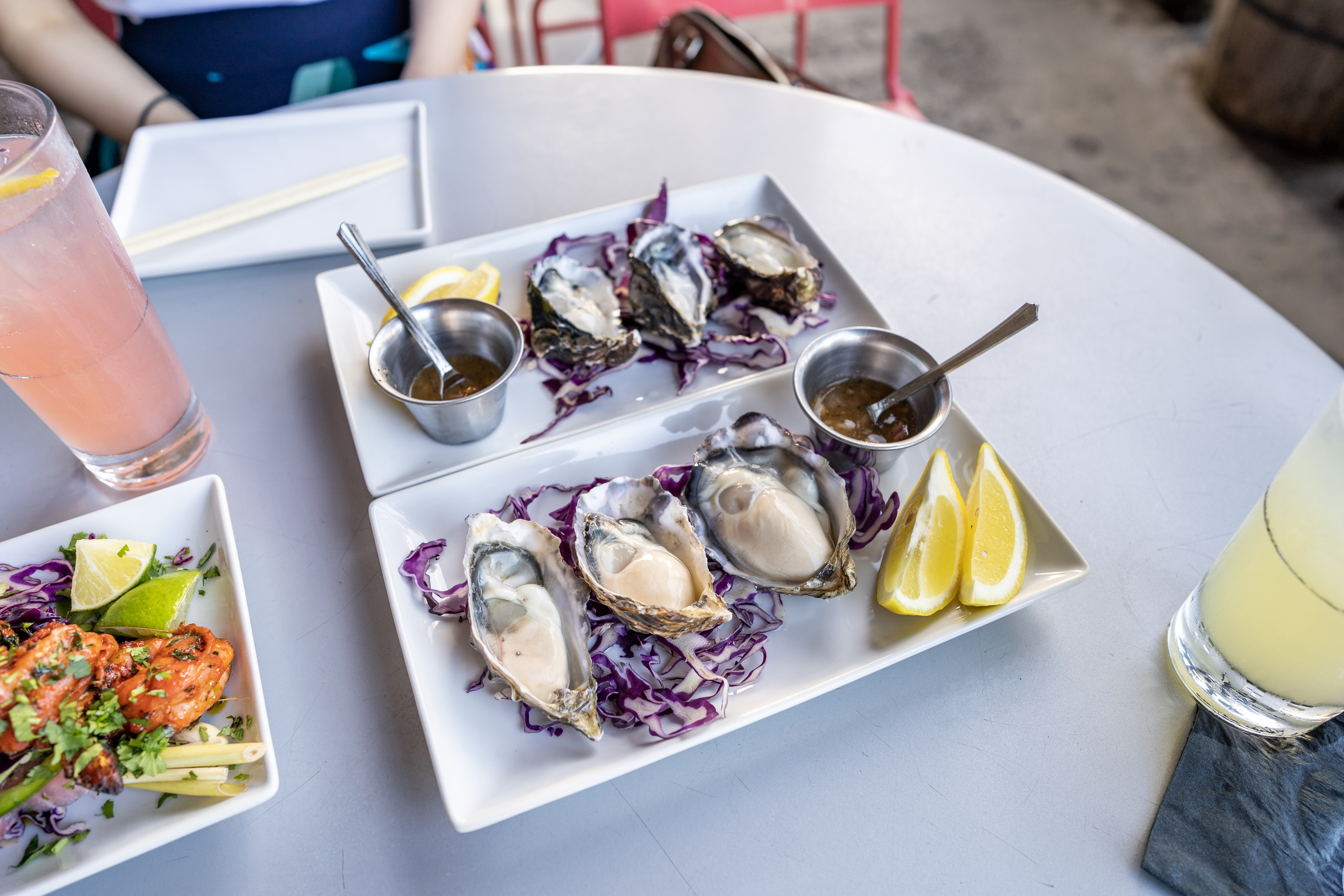 Oysters at Bevy