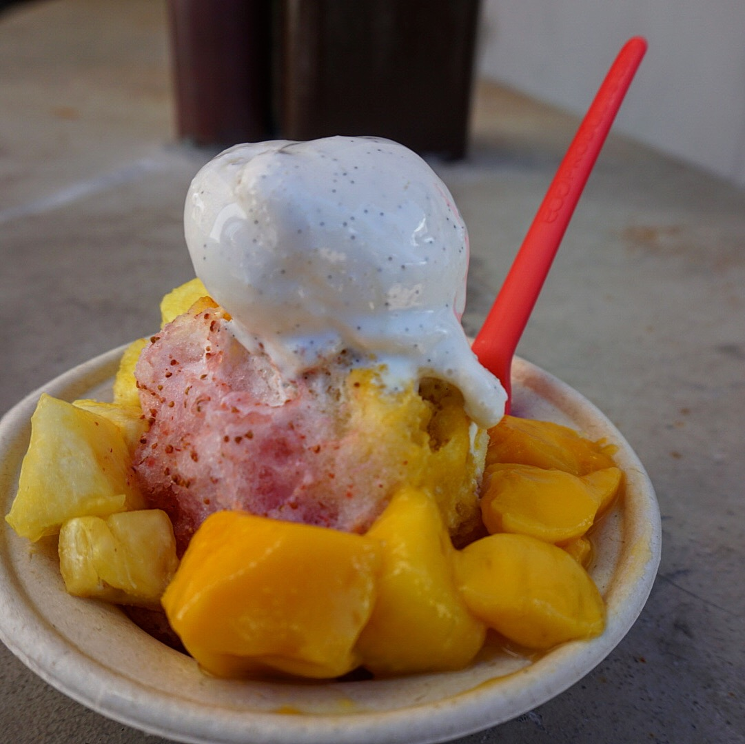 Classic Rainbow Shave Ice from HOPA
